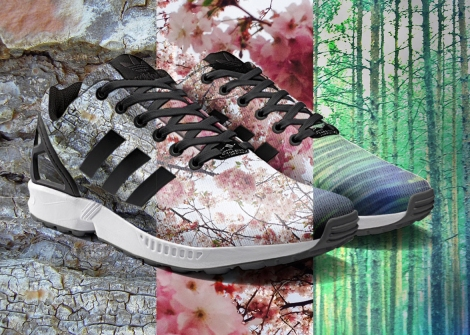 ZXFlux miadidas  photoprint Nature